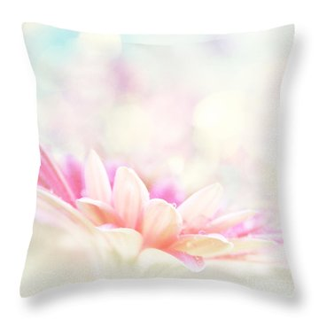 The Paintbrush Of Spirit  Throw Pillow