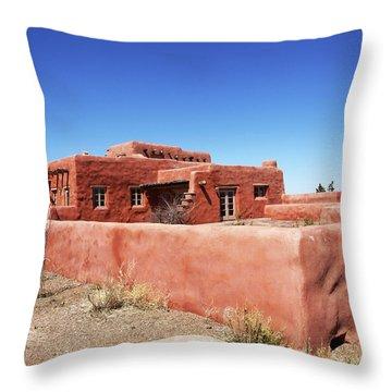 The Painted Desert Inn Throw Pillow