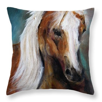 The Palomino I Throw Pillow