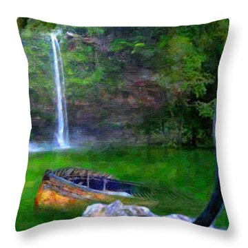 The Panther Throw Pillow by Michael Cleere
