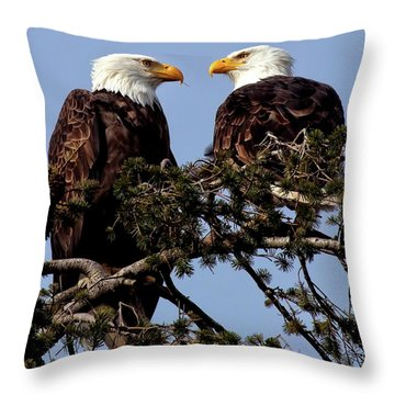 The Parents Throw Pillow
