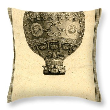 The Paris Ascent 2 Throw Pillow