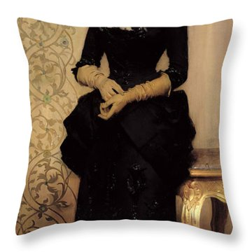 The Parisian Throw Pillow