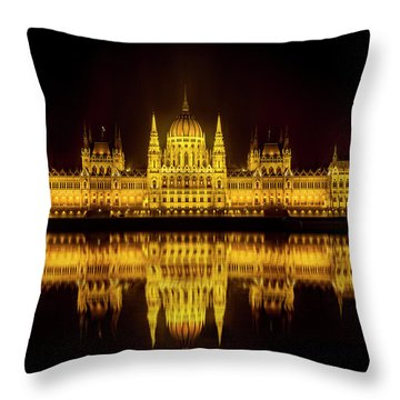 The Parliament House Throw Pillow