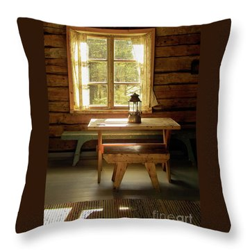 The Parlour Throw Pillow