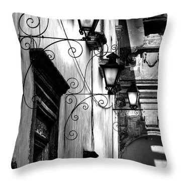 The Passage Way Throw Pillow