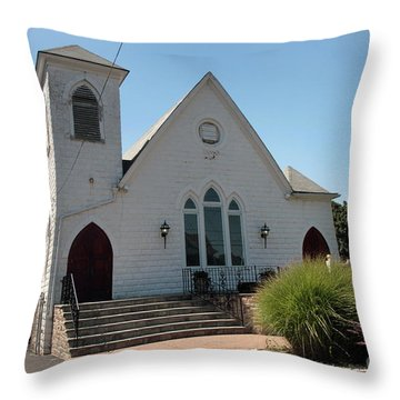The Patchogue Seventh Day Adventist Church Throw Pillow