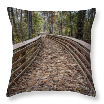 The Path That Leads Throw Pillow