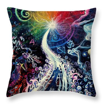 The Path To Enlightenment Throw Pillow by Steve Griffith