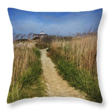 The Pathway Home Throw Pillow by Tom Gari Gallery-Three-Photography