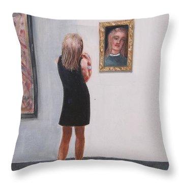 The Patron Throw Pillow