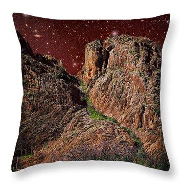 The Peak Throw Pillow
