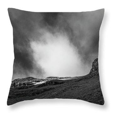 The Peak Tree Throw Pillow