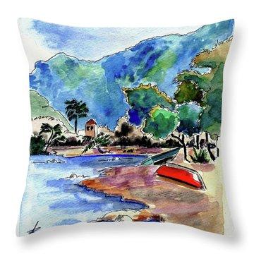 The Peloponnese Throw Pillow