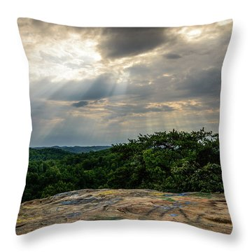 The Peoples Rock Throw Pillow