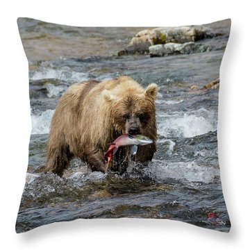 The Perfect Catch Throw Pillow
