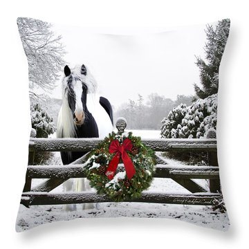 The Perfect Christmas Throw Pillow