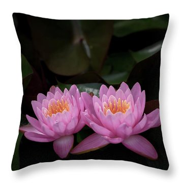The Perfect Couple Throw Pillow by Andrea Silies