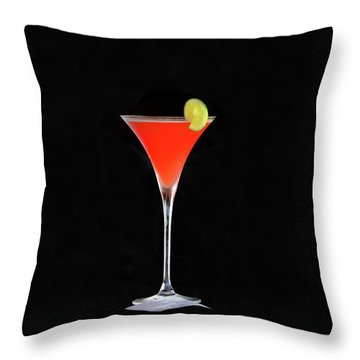 Throw Pillow featuring the photograph The Perfect Drink by David Lee Thompson