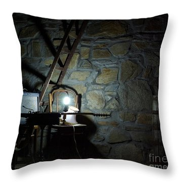 Throw Pillow featuring the photograph The Perfect Place For Music by AmaS Art