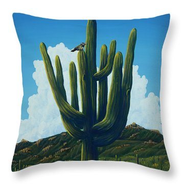 The Perfect Resting Place Throw Pillow