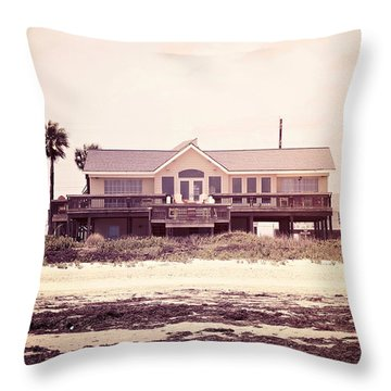 Throw Pillow featuring the photograph The Perfect Summer by Trish Mistric