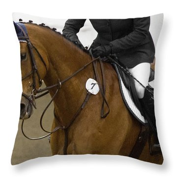 The Perfect Team Throw Pillow