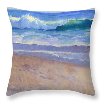 The Healing Pacific Throw Pillow