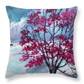 The Persistence Of Love Throw Pillow