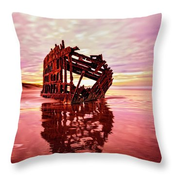 Peter Iredale Fantasy Throw Pillow