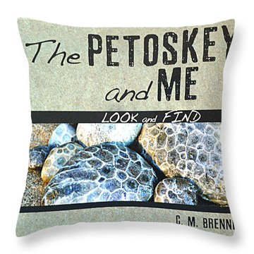 Contact Me About My New Children's Book Throw Pillow