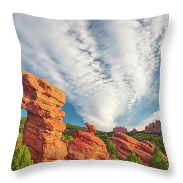 The Photogenic Purlieu Of Our Home, Sweet Hometown  Throw Pillow