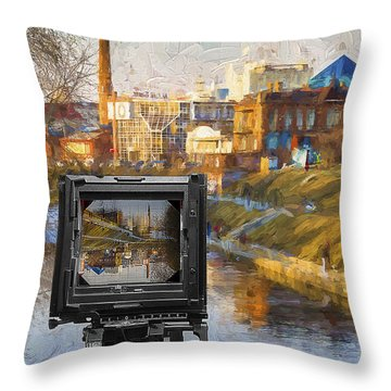 The Photographer's Way Of Seeng Throw Pillow