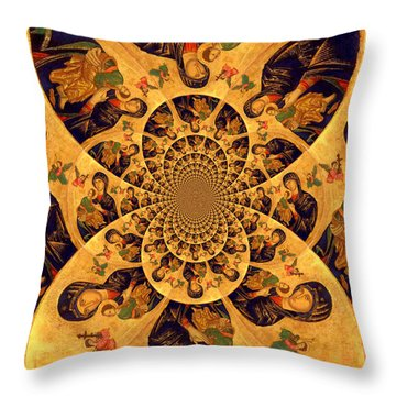 The Piece Throw Pillow