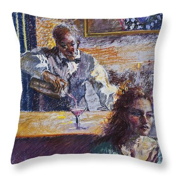 The Pied Piper Throw Pillow