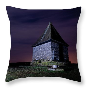 The Pimple Throw Pillow