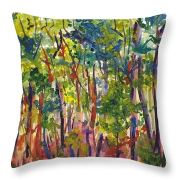The Pines Throw Pillow