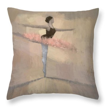 Ballerina Throw Pillows