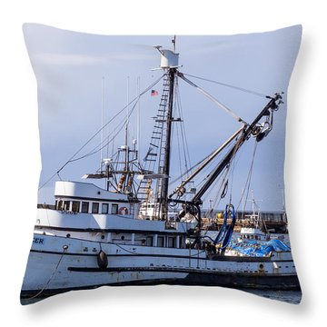 The Pioneer Throw Pillow