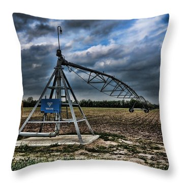 The Pipe Line Throw Pillow