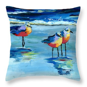 The Pipers Throw Pillow