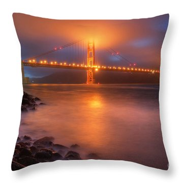 The Place Where Romance Starts Throw Pillow by William Lee