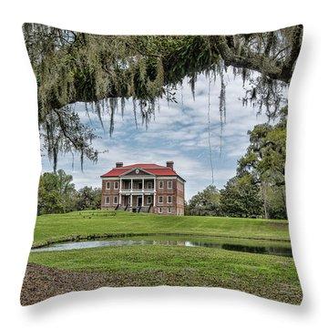 The Plantation Throw Pillow