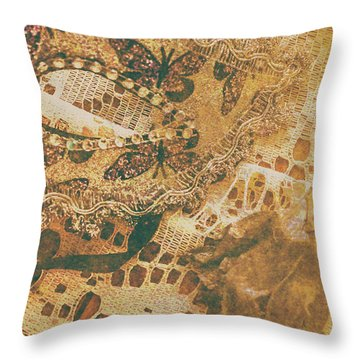 The Play Of Life Throw Pillow