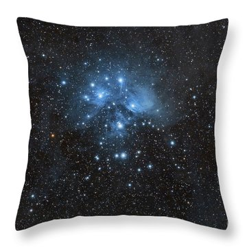 The Pleiades, Also Known As The Seven Throw Pillow by John Davis