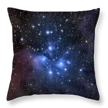 The Pleiades, Also Known As The Seven Throw Pillow