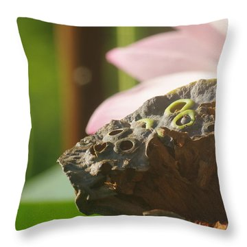 The Pod Throw Pillow