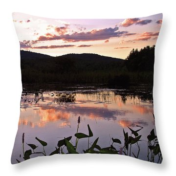 The Poetry Of Twilight Throw Pillow