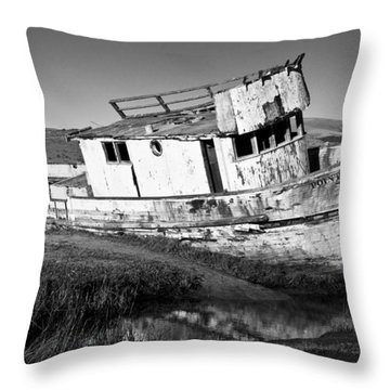 The Point Reyes Throw Pillow