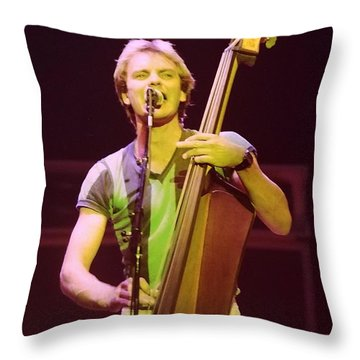 The Police 4 Throw Pillow